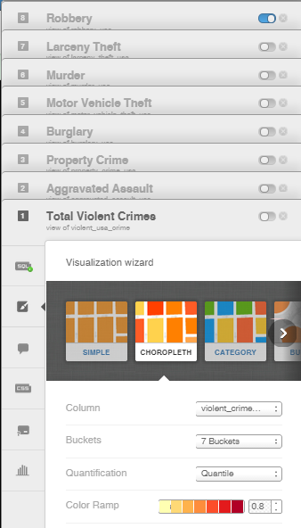Creating a Layer Selector: Crime in the U S A  | CARTO Blog