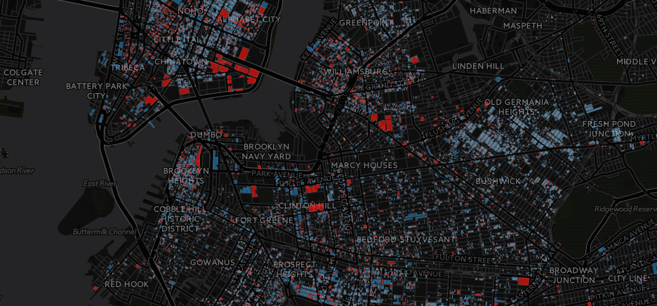 Likely Rent Stabilized Map