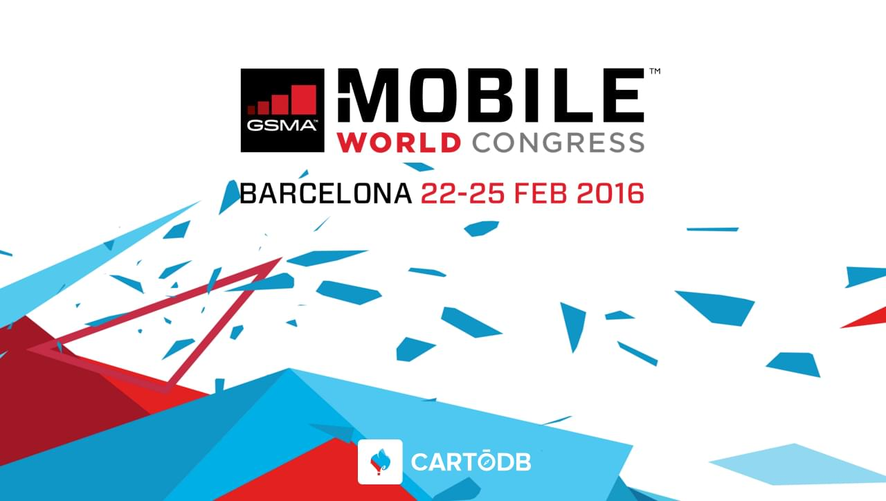 CartoDB at the MWC