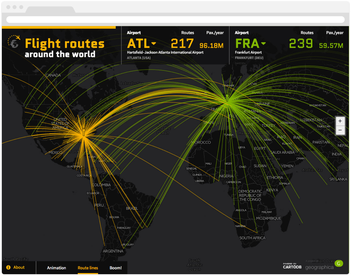 Geographica Takes Flight with CartoDB for Data Insights ...