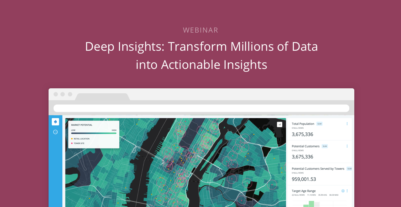 CartoDB's Deep Insights