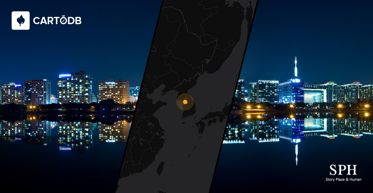 CartoDB in South Korea