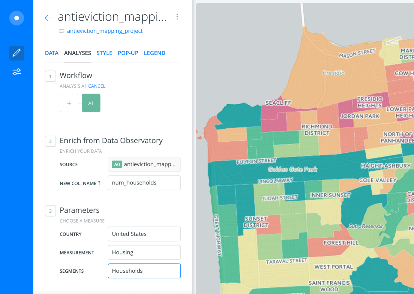 Anti-Eviction Mapping