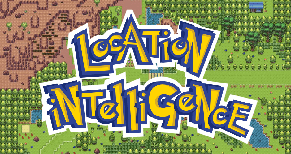 Pokémon GO is All About Location Intelligence