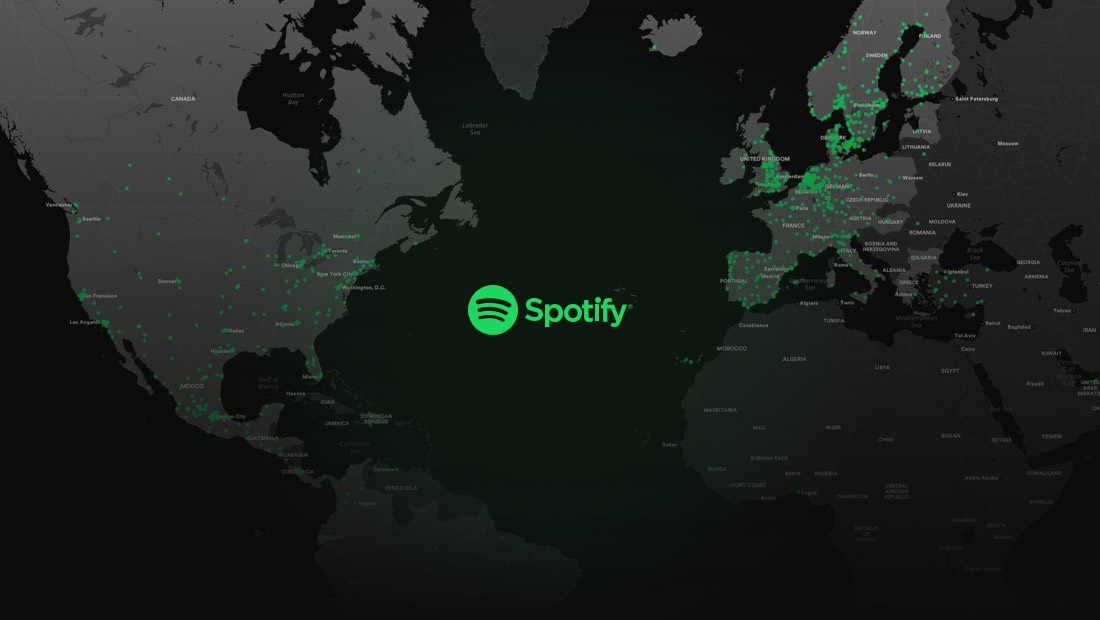 Spotify gets into the Groove with Musical Cities