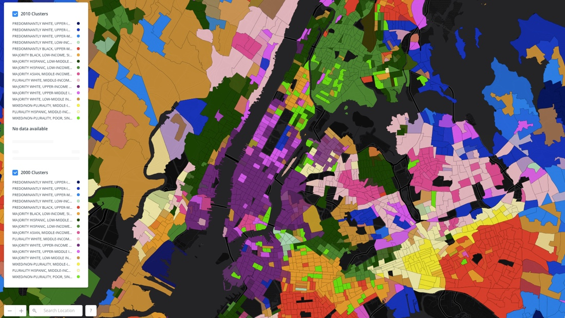 Changing Neighborhoods: The case of New York City