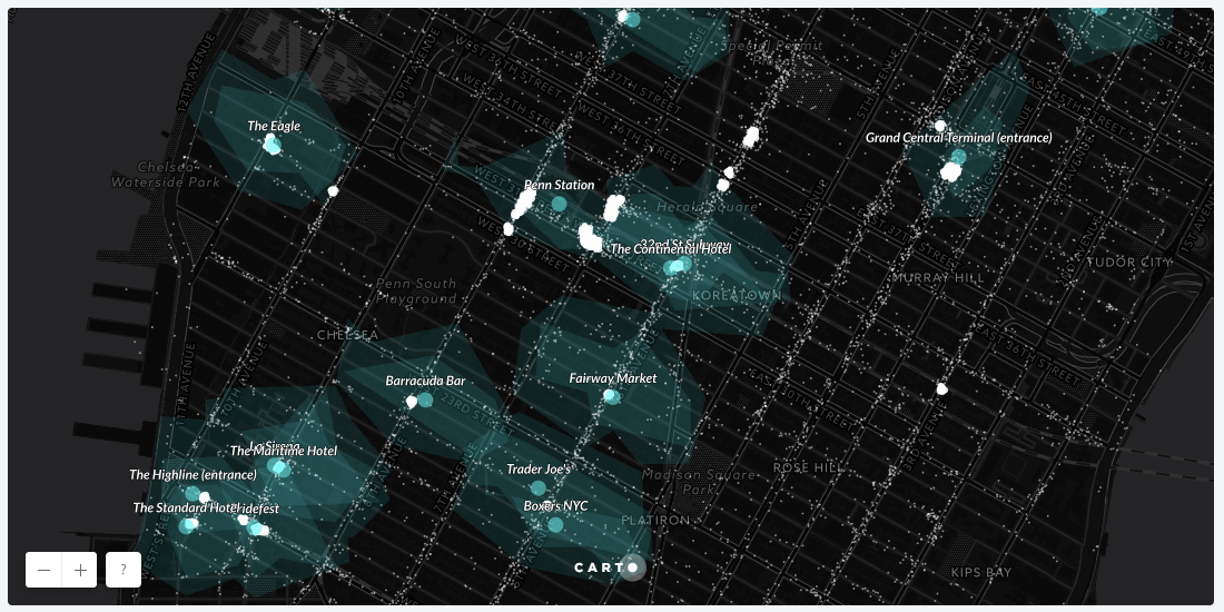 A Map of Where People Went After the NYC Pride Parade