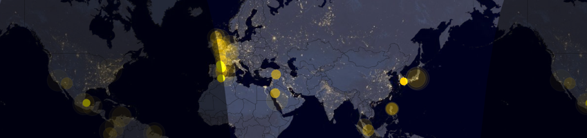 80 Data Visualization Examples Using Location Data and Maps — CARTO Blog