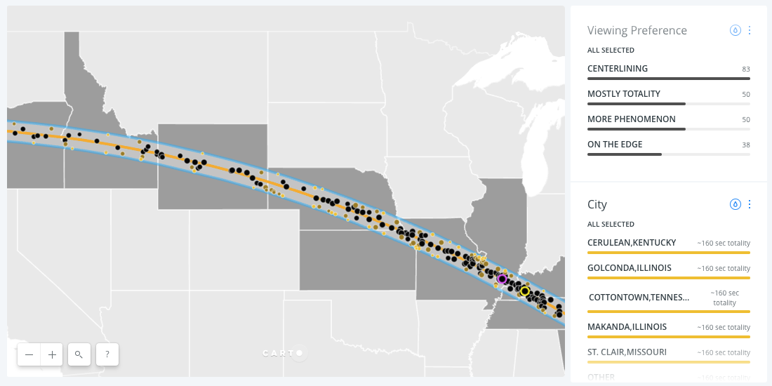 The Total Solar Eclipse Map to Rule All Solar Eclipse Maps