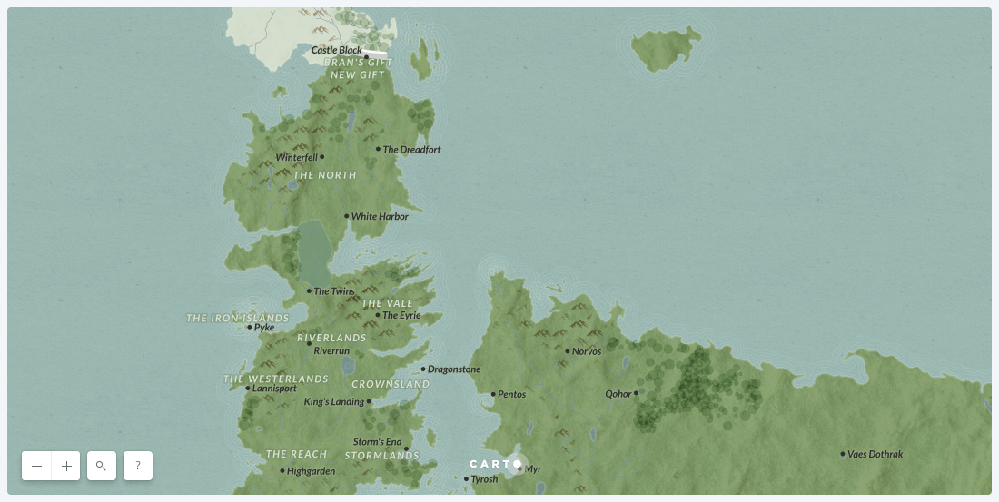 Our Game of Thrones Basemap is here to unite the Seven Kingdoms
