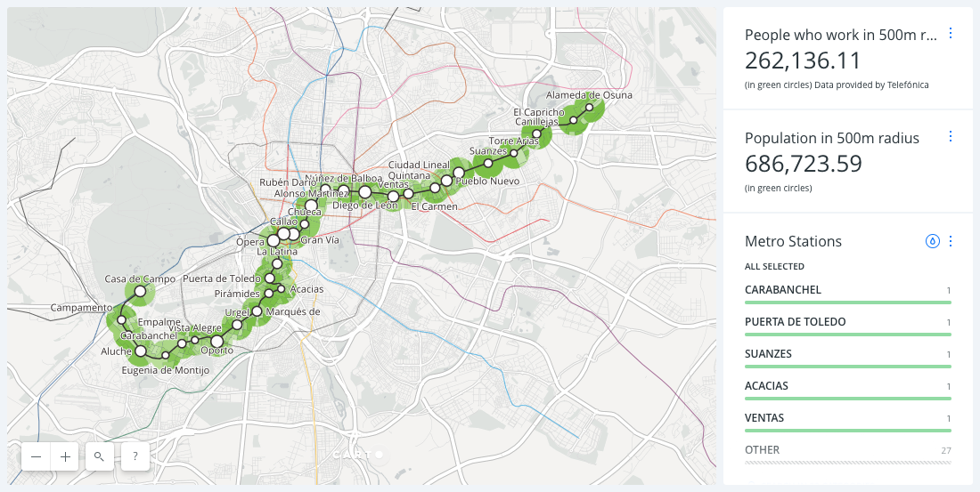 Mapping the Impact of Madrid's Line 5 Shutdown