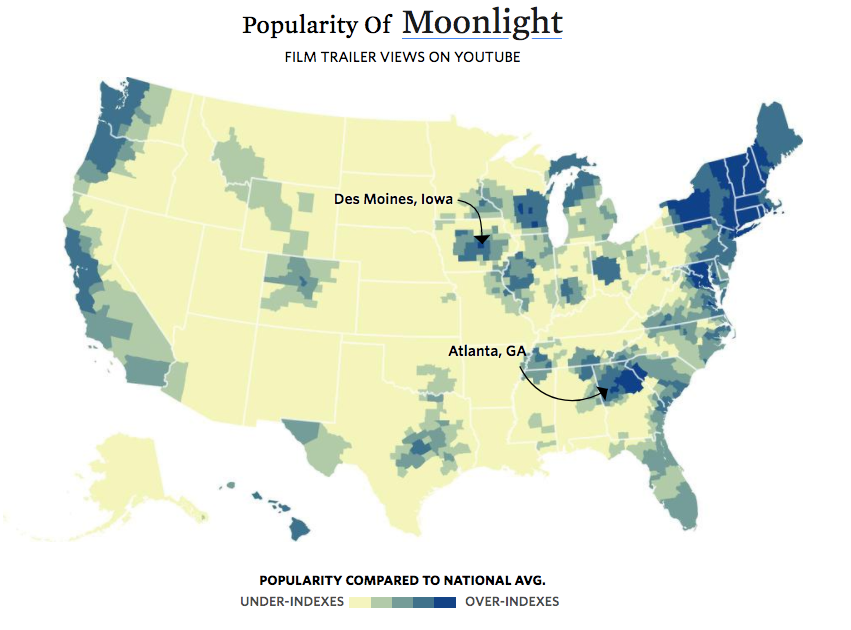 Moonlight Popularity
