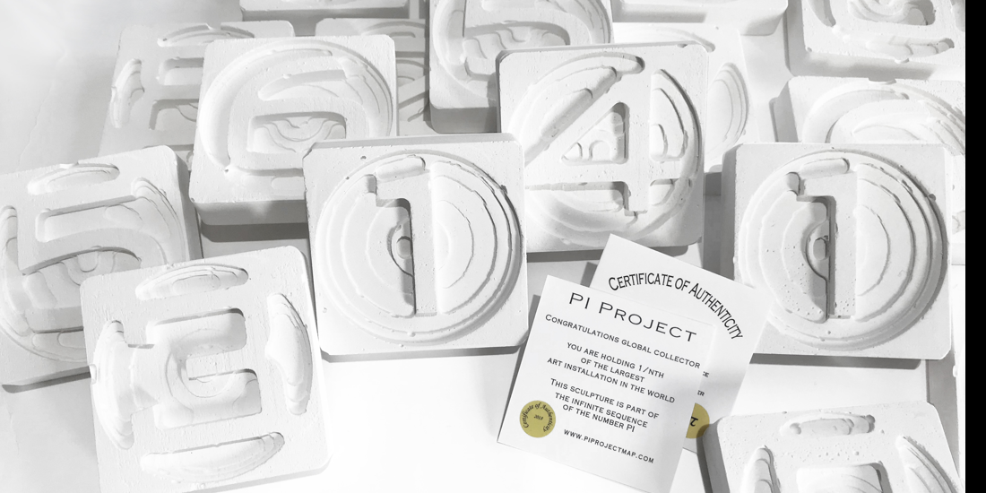 Pi Sculptures