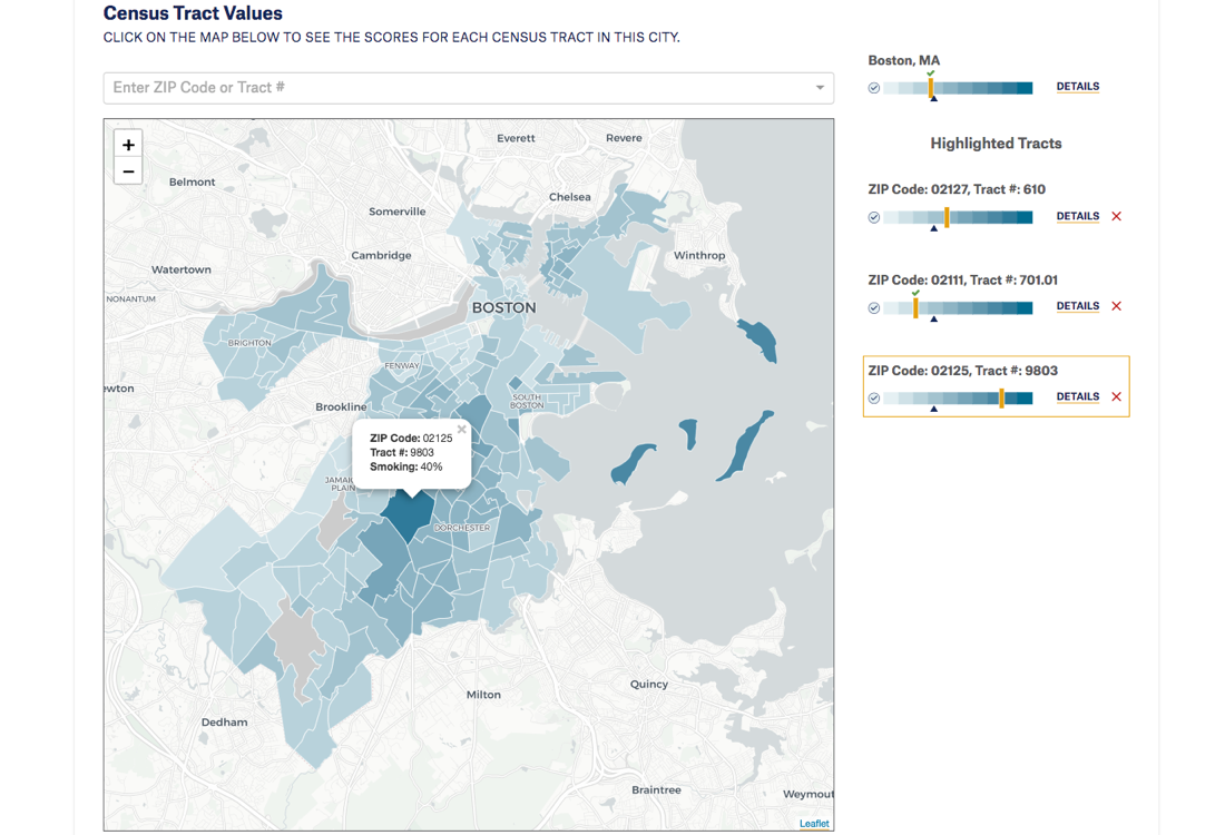 Map of the Month: City Health Dashboard | CARTO Blog