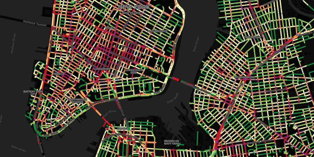 Predicting Collisions in NYC with New Data Streams and Spatial Analysis