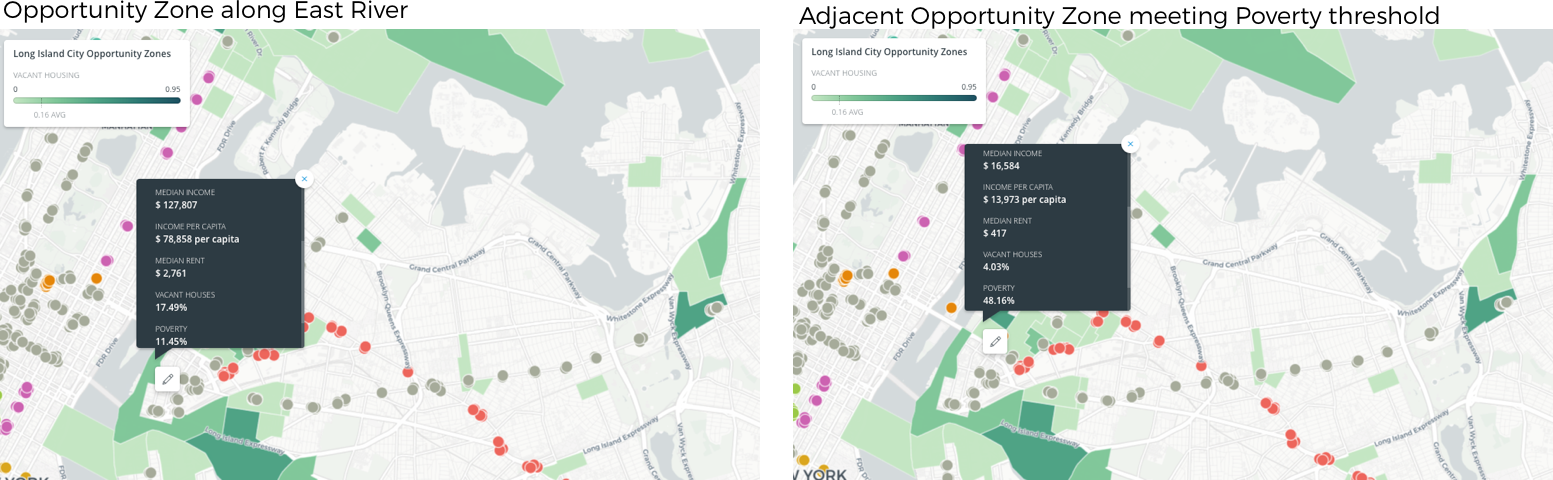 Opportunity Zones in the Wake of Amazon HQ2 | CARTO Blog