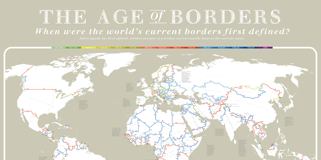 Border Age Map.