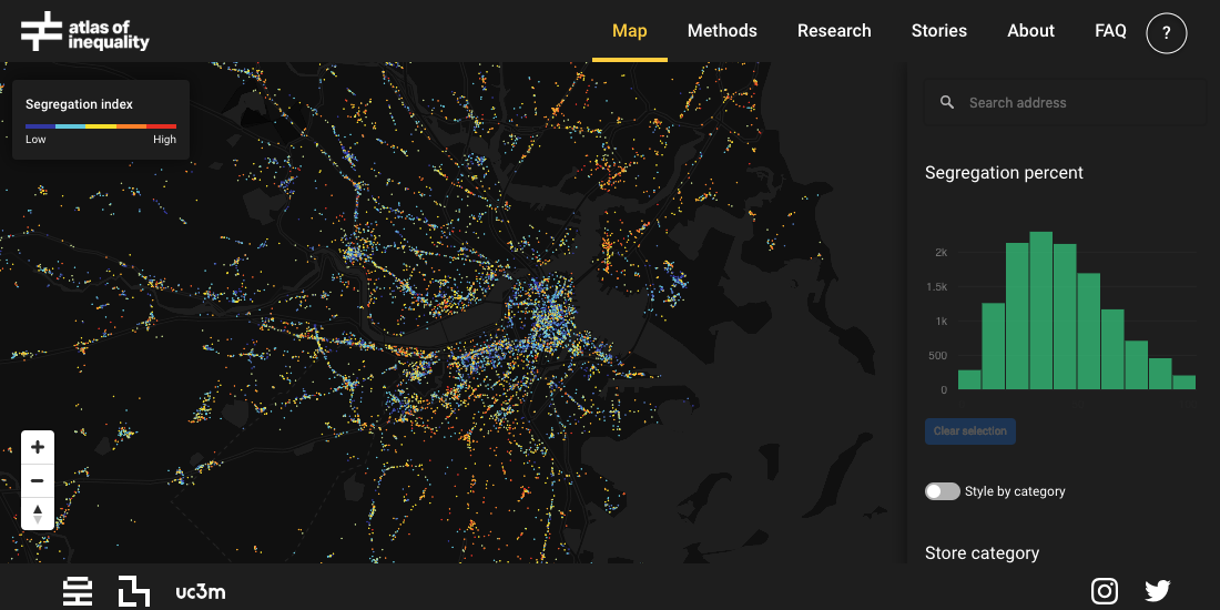 Mapping Segregation - MIT's Atlas of Inequality