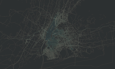New York Streets Map
