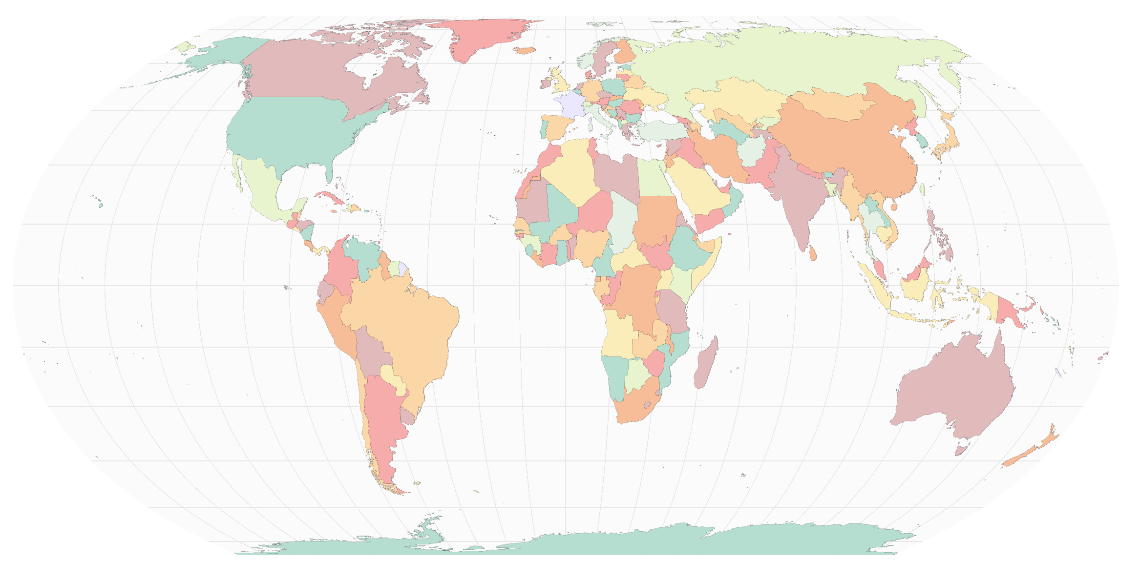 Equal Earth Projection in CARTO!