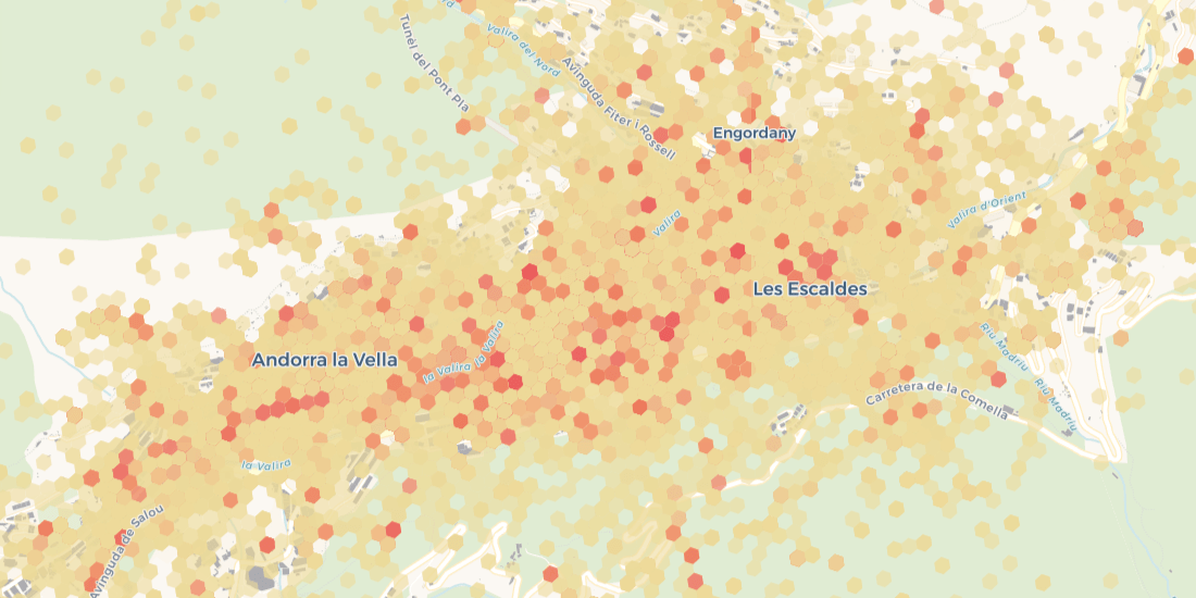 Spatial Analysis for Tourism in Partnership with Andorra