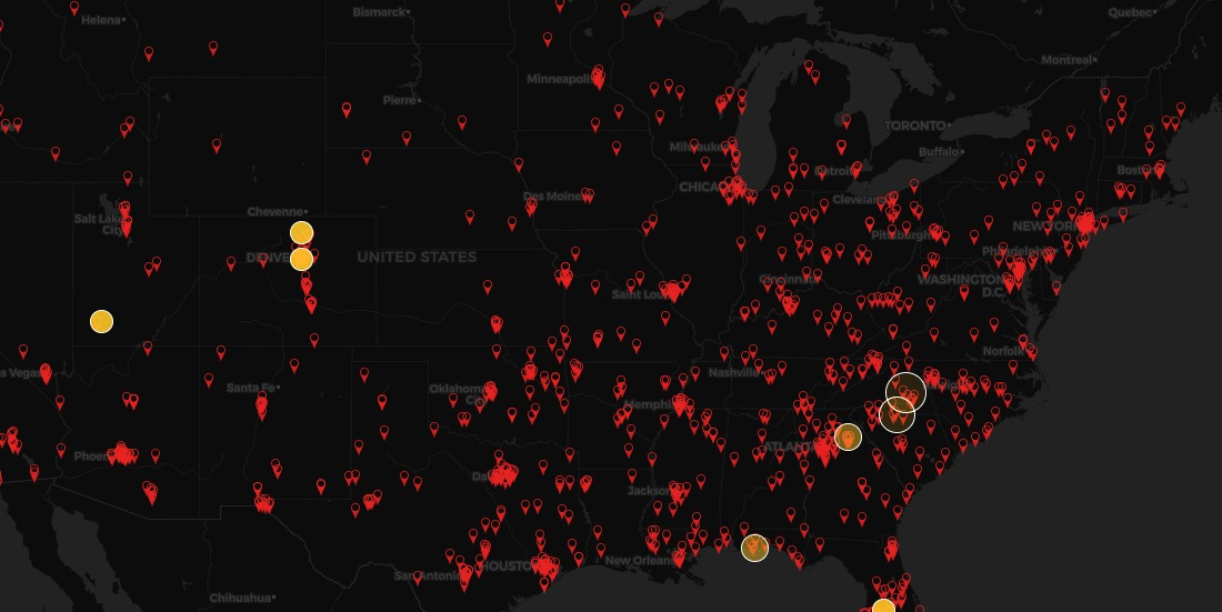 US Protest Map & Visualizing Police Violence
