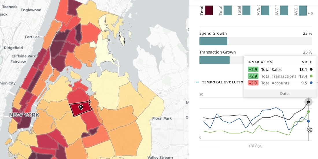 Mastercard Geographic Insights updated with new features & metrics