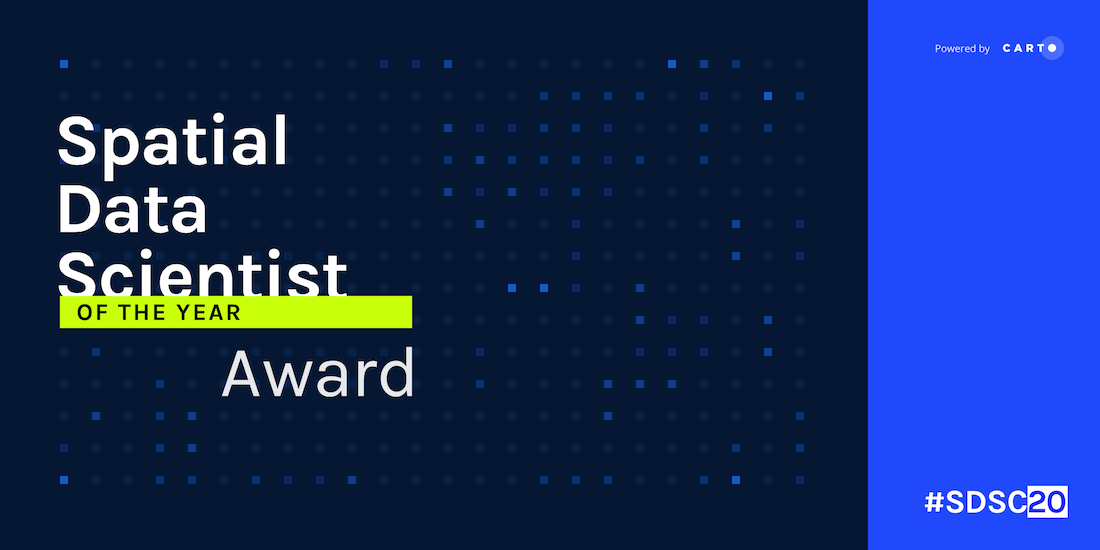 Spatial Data Scientist of the Year Award