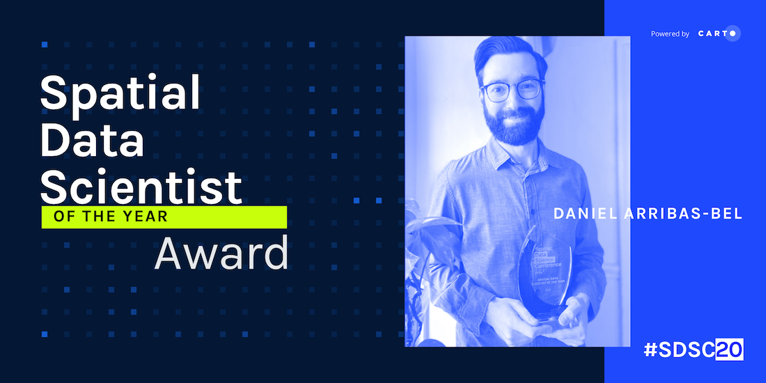 Announcing the Spatial Data Scientist of the Year 2020