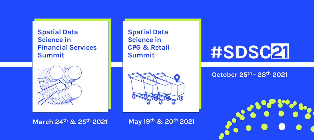 Announcing #SDSC21: A Series of Spatial Data Science Events