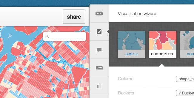 map visualization wizard