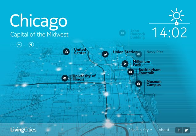 real time chicago map