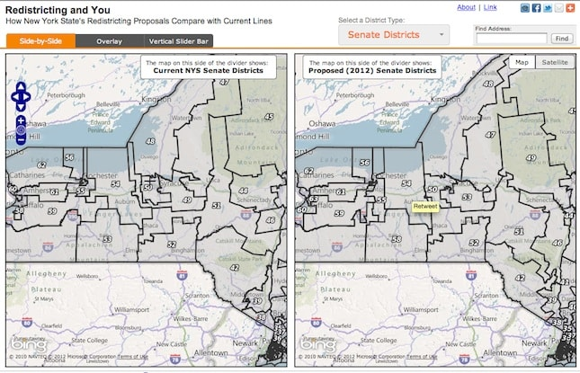 redistricting map examples