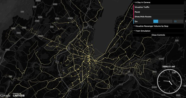 map of geneva urban data