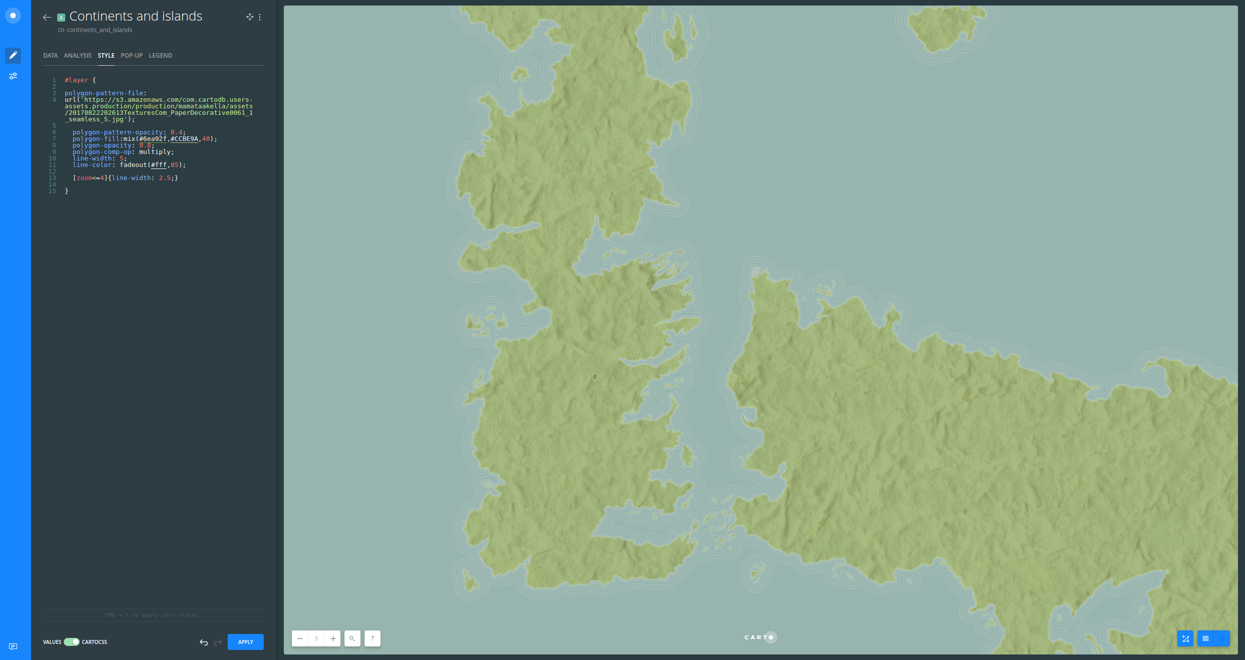 Example - Building a Custom Basemap through Styling - Part 2