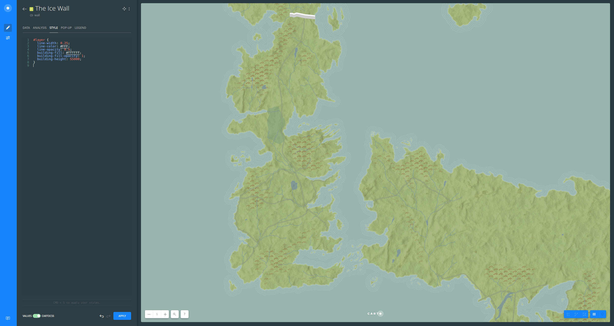 How To Create A Game Of Thrones Basemap Help Center