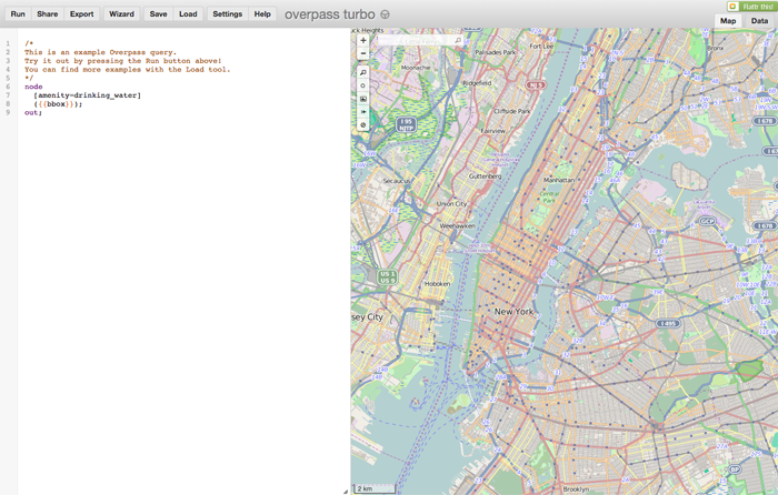 Exporting OSM Data