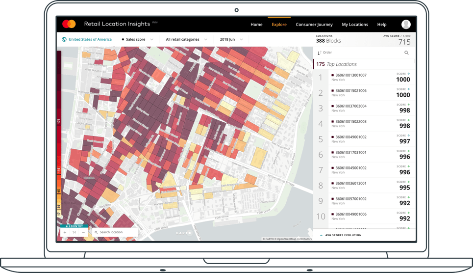 Mastercard Retail Location Insights - A Location